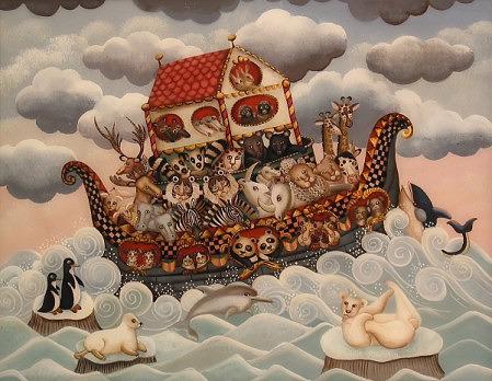 L 39 arche de noe aux pandas marie amalia for Tableau de l arche de noe